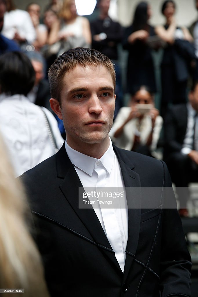 Robert Pattinson attends at the Dior Homme Menswear Spring/Summer 2017 show as part of Paris Fashion Week on June 25, 2016 in Paris, France.