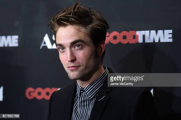 Robert Pattinson attends 'Good Time' New York Premiere at SVA Theater on August 8 2017 in New York City
