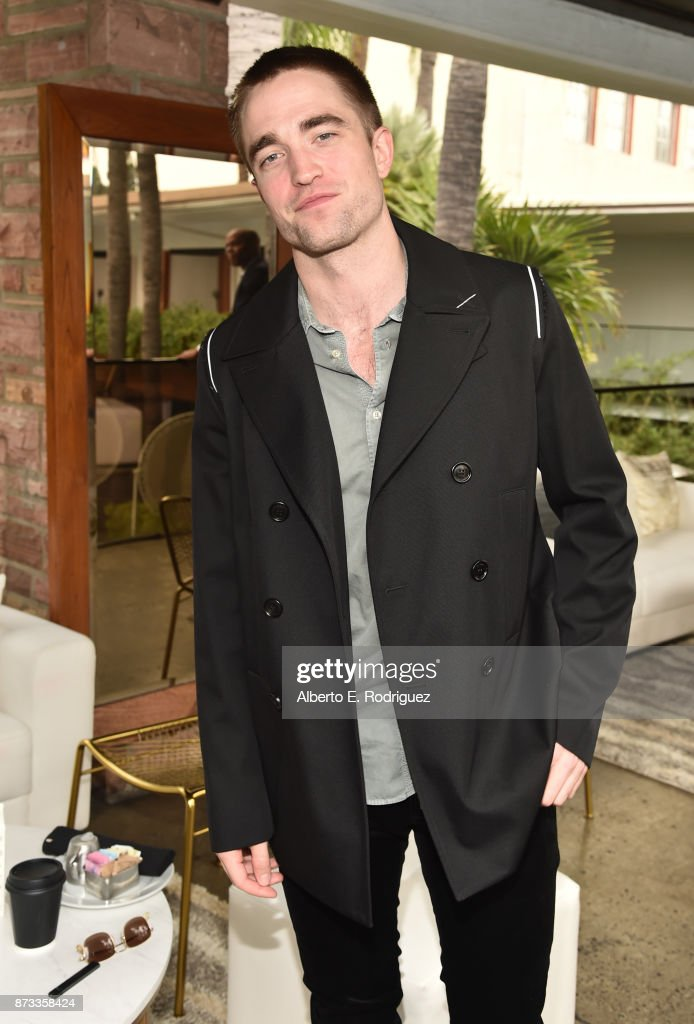 Robert Pattinson attends 'Indie Contenders Roundtable' at AFI FEST 2017 Presented By Audi at Hollywood Roosevelt Hotel on November 12, 2017 in Hollywood, California.