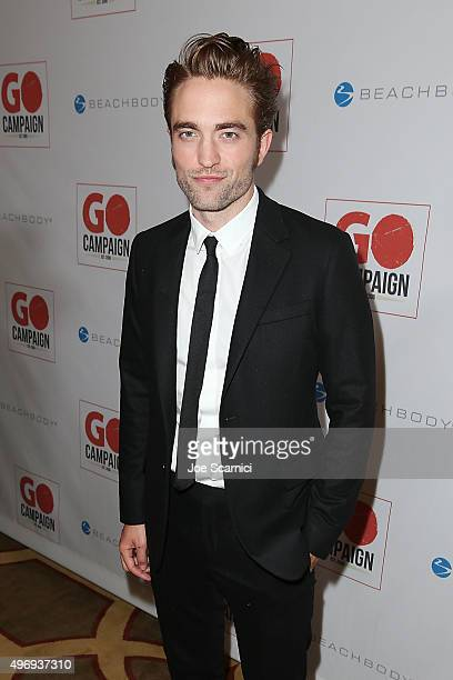 Robert Pattinson attends the 8th Annual GO Campaign Gala at Montage Beverly Hills on November 12 2015 in Beverly Hills California