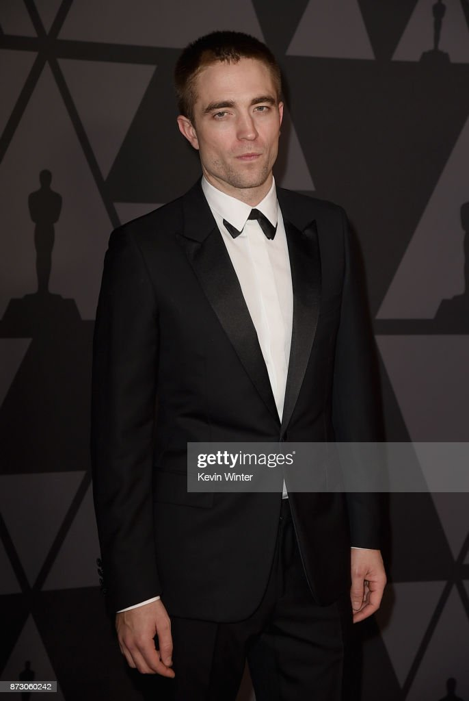 Robert Pattinson attends the Academy of Motion Picture Arts and Sciences' 9th Annual Governors Awards at The Ray Dolby Ballroom at Hollywood & Highland Center on November 11, 2017 in Hollywood, California.