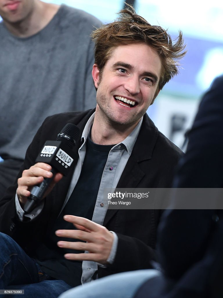 Robert Pattinson attends the Build Presents The Cast Of 'Good Time' at Build Studio on August 10, 2017 in New York City.