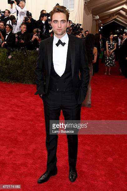 Robert Pattinson attends the 'China Through The Looking Glass' Costume Institute Benefit Gala at the Metropolitan Museum of Art on May 4 2015 in New...