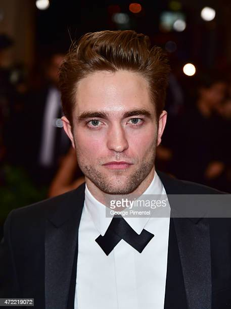 Robert Pattinson attends the 'China Through The Looking Glass' Costume Institute Benefit Gala at Metropolitan Museum of Art on May 4 2015 in New York...