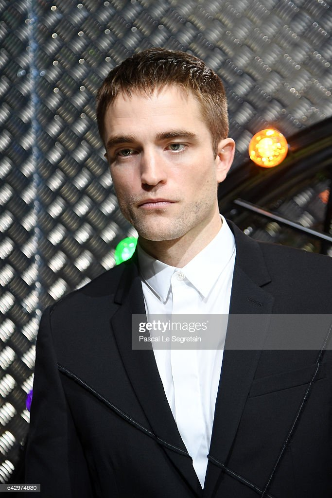 Robert Pattinson attends the Dior Homme Menswear Spring/Summer 2017 show as part of Paris Fashion Week on June 25, 2016 in Paris, France.