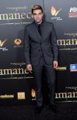 Robert Pattinson attends the premiere of 'The Twilight Saga Breaking Dawn Part 2' at kinepolis Cinema on November 15 2012 in Madrid Spain