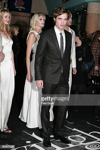 Robert Pattinson attends the UK and Ireland Premiere of 'Twilight' at Vue West End on December 3 2008 in London England