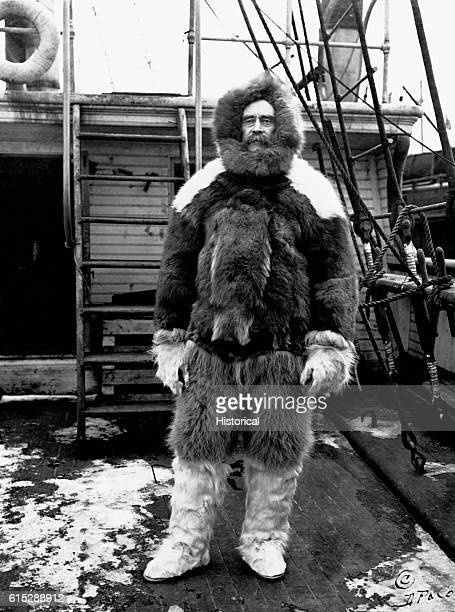Robert Peary was an American explorer who after several unsuccessful attempts was the first man to reach the North Pole on April 6 1909
