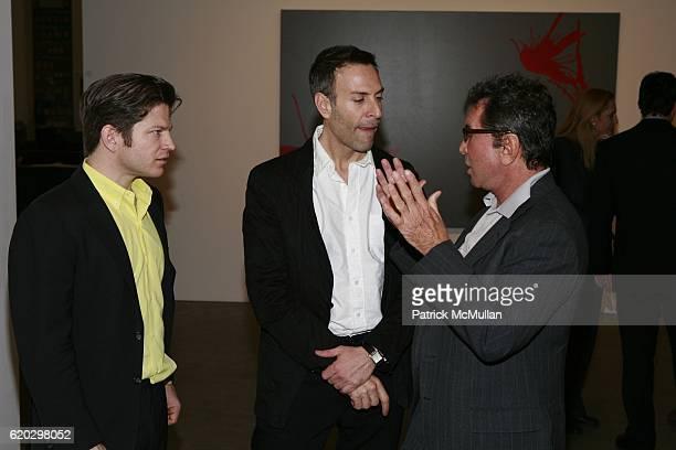 Robert Peter Miller Joseph LaPiana and Sandy Gallin attend Robert Miller Gallery presents 'Kinetic State' with Joseph LaPiana at Robert Miller...