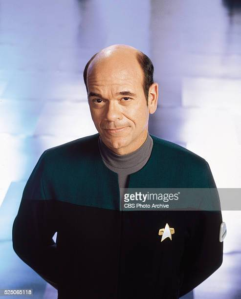 Robert Picardo as 'The Doctor' on STAR TREK VOYAGER Image from season 7 20002001