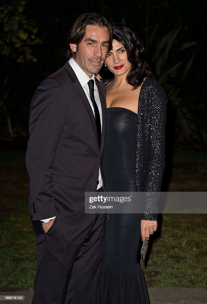 <a gi-track='captionPersonalityLinkClicked' href=/galleries/search?phrase=Robert+Pires&family=editorial&specificpeople=167225 ng-click='$event.stopPropagation()'>Robert Pires</a> and Jessica Lemarie arrive at the Chain Of Hope Annual Ball at Supernova, Embankment Gardens on November 14, 2013 in London, England.