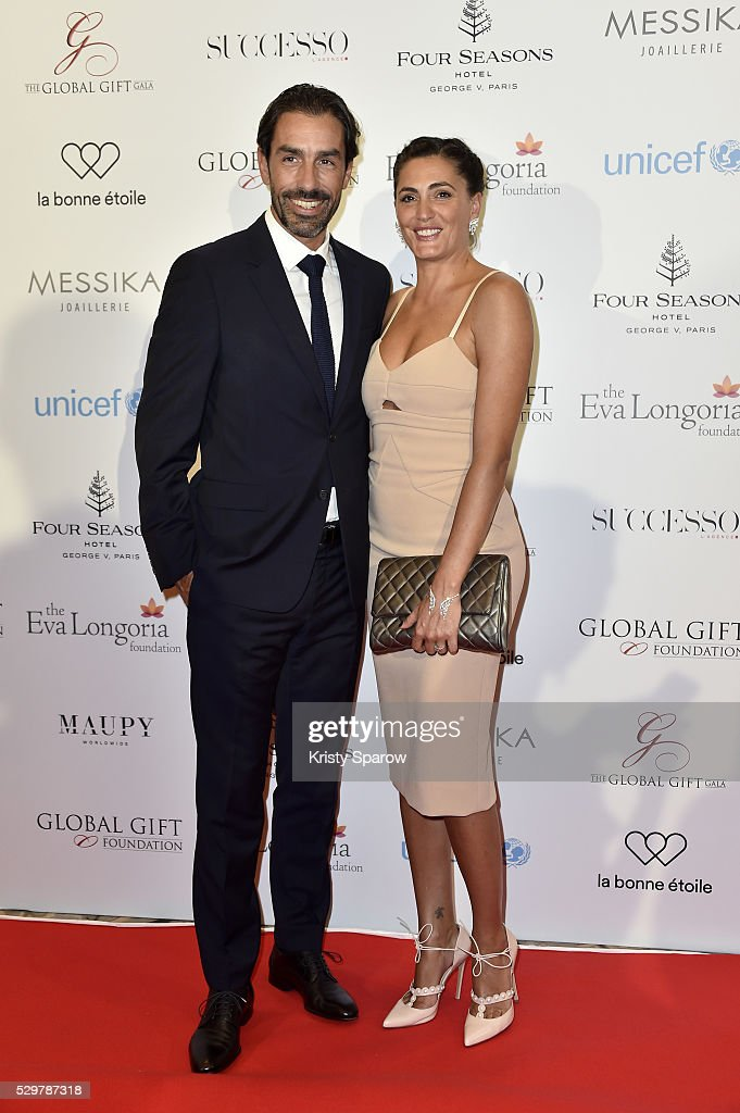 <a gi-track='captionPersonalityLinkClicked' href=/galleries/search?phrase=Robert+Pires&family=editorial&specificpeople=167225 ng-click='$event.stopPropagation()'>Robert Pires</a> and Jessica Lemarie-Pires attend the Global Gift Gala Photocall at the Hotel Georges V on May 09, 2016 in Paris, France.