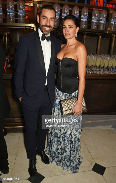 Robert Pires and Jessica Pires attends The Weinstein Company Entertainment Film Distributors Studiocanal 2017 BAFTA After Party in partnership with...