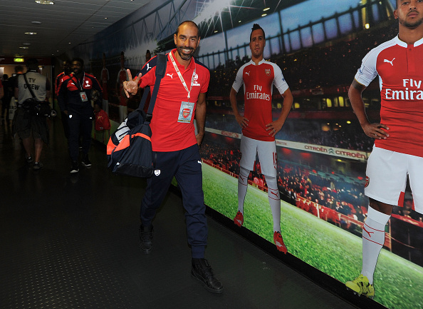 Arsenal Legends v AC Milan Glorie : News Photo