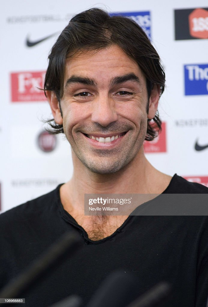 <a gi-track='captionPersonalityLinkClicked' href=/galleries/search?phrase=Robert+Pires&family=editorial&specificpeople=167225 ng-click='$event.stopPropagation()'>Robert Pires</a> of Aston Villa speaks to the media during a press conference at Aston Villa's Bodymoor Heath training ground on November 19, 2010 in Birmingham, England.