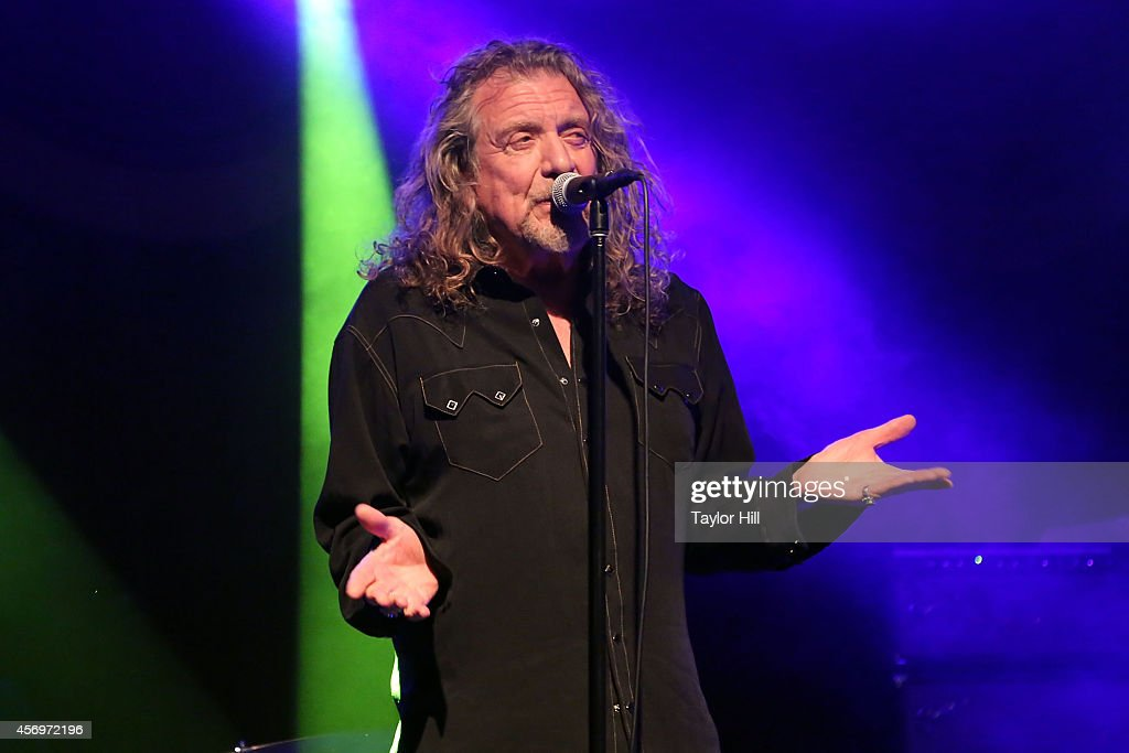 Robert Plant and the Sensational Space Shifters perform at Brooklyn Bowl on October 9 2014 in New York City