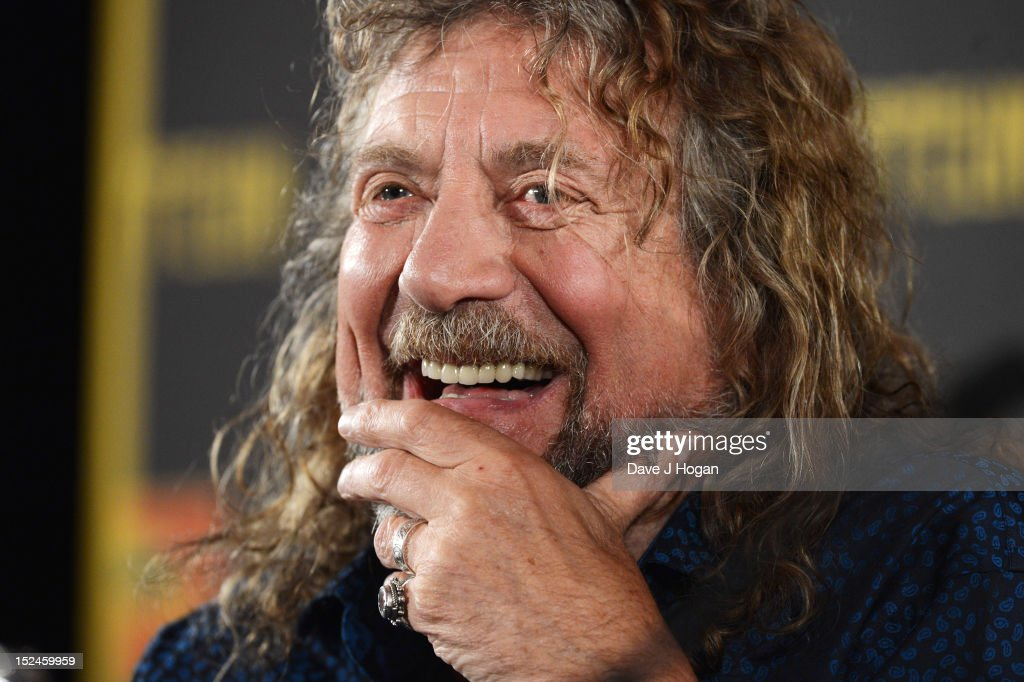 <a gi-track='captionPersonalityLinkClicked' href=/galleries/search?phrase=Robert+Plant&family=editorial&specificpeople=211368 ng-click='$event.stopPropagation()'>Robert Plant</a> attends a press conference to announce Led Zeppelin's new live DVD Celebration day at 8 Northumberland Avenue on September 21, 2012 in London, England.