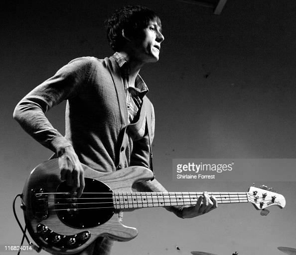 Robert Pyne of The Rifles performs at HMV on January 26 2009 in Manchester England