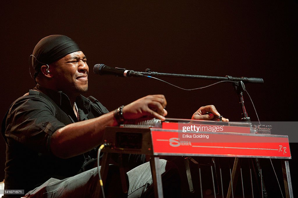 <a gi-track='captionPersonalityLinkClicked' href=/galleries/search?phrase=Robert+Randolph&family=editorial&specificpeople=213045 ng-click='$event.stopPropagation()'>Robert Randolph</a> performs during the Experience Hendrix Tour at the Tennessee Performing Arts Center on March 9, 2012 in Nashville, Tennessee.
