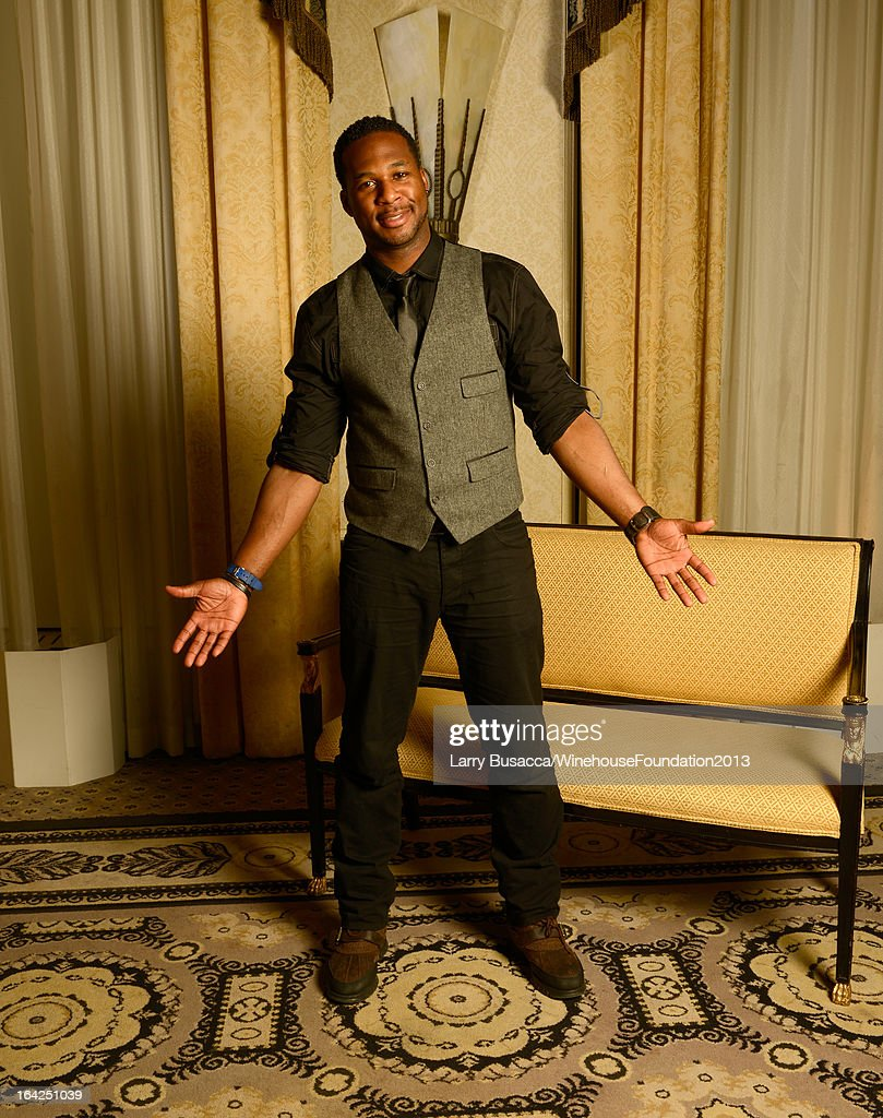 Robert Randolph poses for a portrait during the 2013 Amy Winehouse Foundation Inspiration Awards and Gala at The Waldorf=Astoria on March 21, 2013 in New York City.