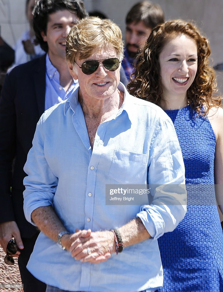 <a gi-track='captionPersonalityLinkClicked' href=/galleries/search?phrase=Robert+Redford&family=editorial&specificpeople=202897 ng-click='$event.stopPropagation()'>Robert Redford</a> and Anna Gerb The 66th Annual Cannes Film Festival on May 22, 2013 in Cannes, France.