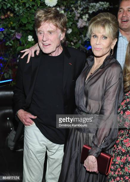 Robert Redford and Jane Fonda attend the Netflix Hosts The New York Premiere Of 'Our Souls At Night' at at The Oak Room on September 27 2017 in New...