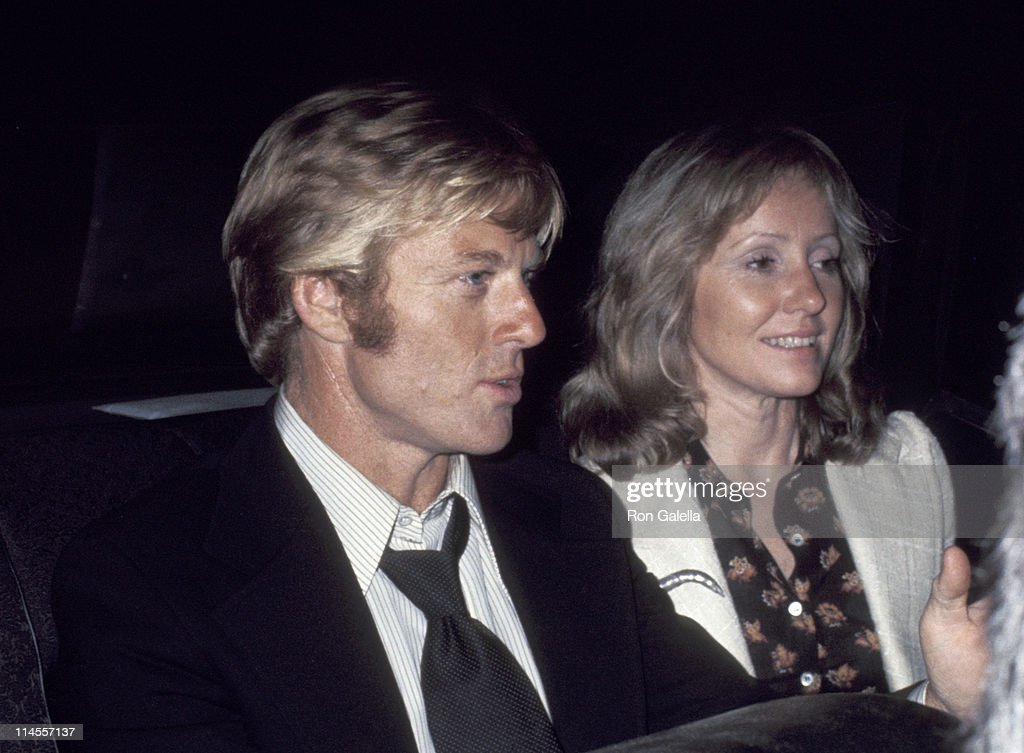 Former husband and wife: Robert Redford and Lola Van Wagenen