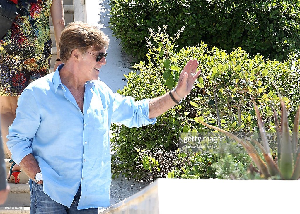 <a gi-track='captionPersonalityLinkClicked' href=/galleries/search?phrase=Robert+Redford&family=editorial&specificpeople=202897 ng-click='$event.stopPropagation()'>Robert Redford</a> attends day 8 of the 66th Annual Cannes Film Festival>> on May 22, 2013 in Cannes, France.