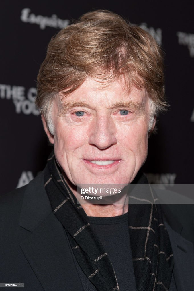 Robert Redford attends 'The Company You Keep' New York Premiere at The Museum of Modern Art on April 1 2013 in New York City