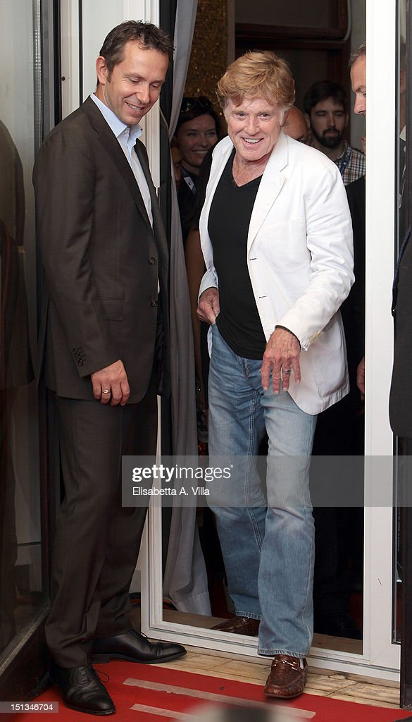 Robert Redford attends the 'The Company You Keep' Photocall during the 69th Venice Film Festival at the Palazzo del Casino on September 6 2012 in...