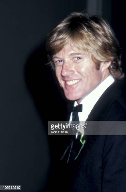 Robert Redford during 'Consumer Action Now ' Awards Dinner May 21 1980 at Plaza Hotel in New York City New York United States