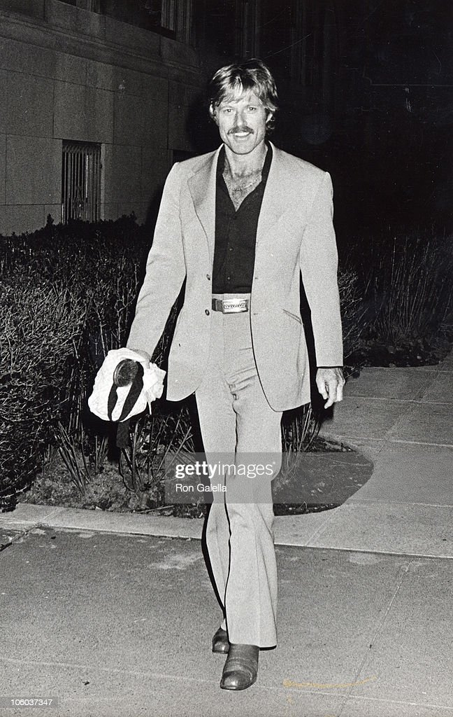Robert Redford during Robert Redford Sighted outside his New York City Apartment May 3 1978 at Robert Redford's New York City Apartment in New York...