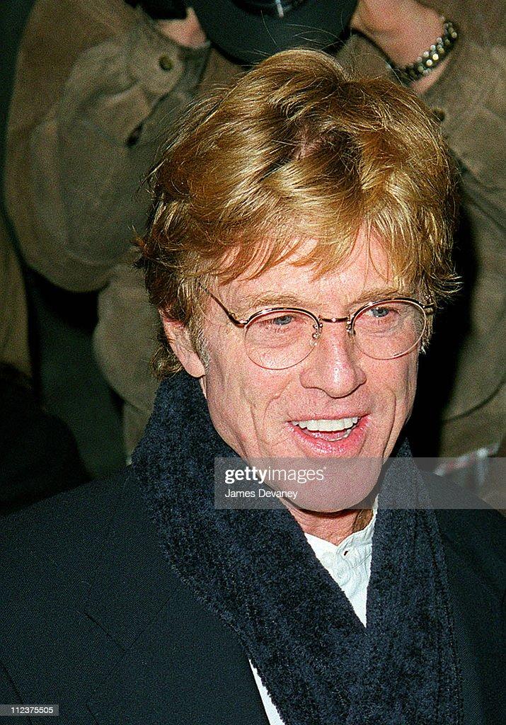 """The Legend Of Bagger Vance"" New York Premiere - October 29, 2000"
