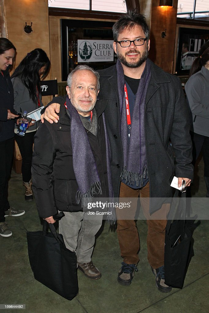 Robert Reich and Jacob Kornbluth attend Day 3 of the Variety Studio At 2013 Sundance Film Festival on January 21, 2013 in Park City, Utah.