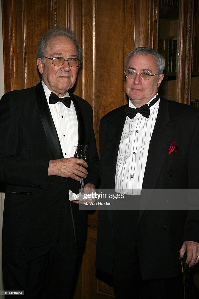 Robert Richter and Ken Ascher during The 78th Annual Academy Awards Official New York Party at St. Regis Hotel in New York City, New York, United States.