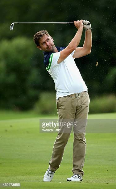 Robert Rock of England in action during the second round of the Alfred Dunhill Championship at Leopard Creek Country Club on November 29 2013 in...