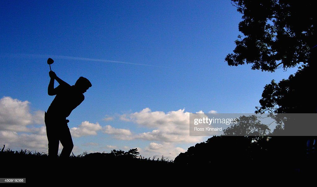 <a gi-track='captionPersonalityLinkClicked' href=/galleries/search?phrase=Robert+Rock&family=editorial&specificpeople=228315 ng-click='$event.stopPropagation()'>Robert Rock</a> of England on the 6th tee during the second round of the Irish Open at the Fota Island Resort on June 20, 2014 in Cork, Ireland.