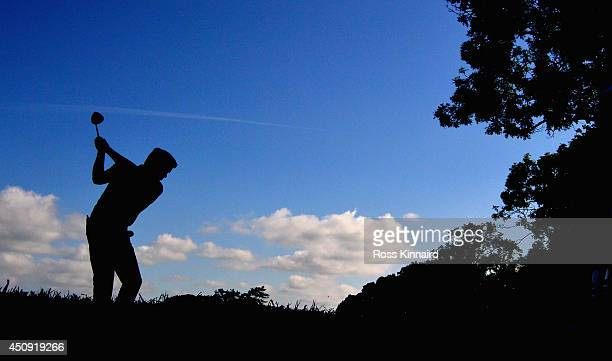Robert Rock of England on the 6th tee during the second round of the Irish Open at the Fota Island Resort on June 20 2014 in Cork Ireland
