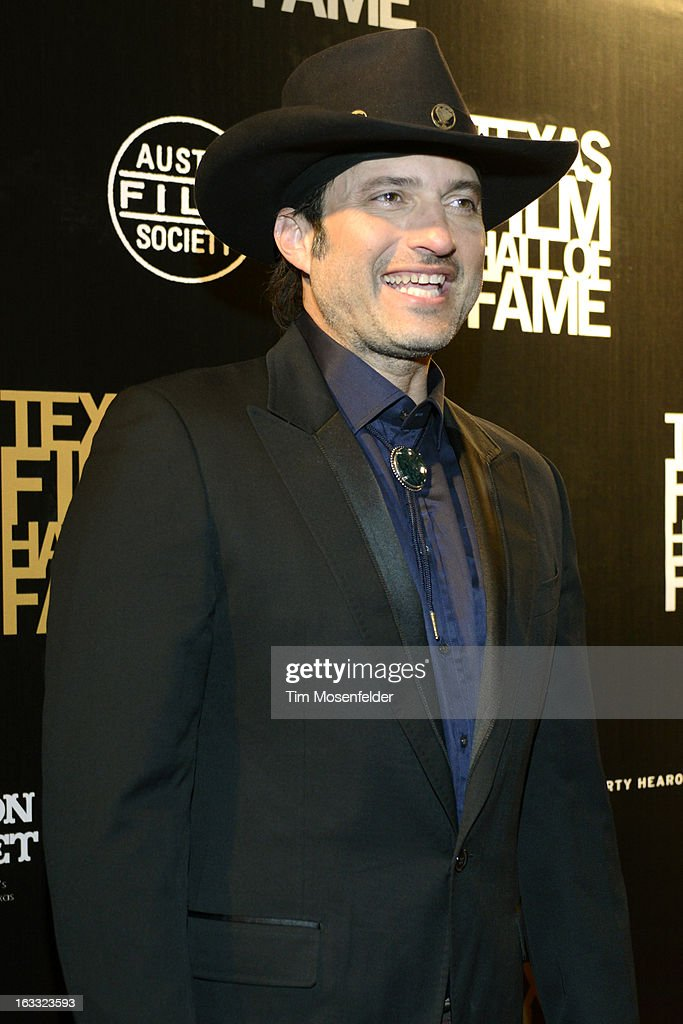 Robert Rodriguez poses at the Texas Film Hall of Fame Awards at Austin Studios on March 7, 2013 in Austin, Texas.