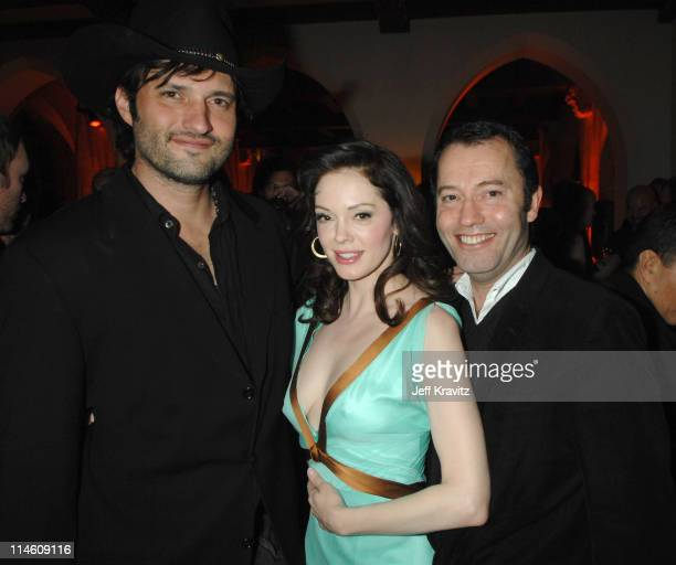Robert Rodriguez Rose McGowan and HBO's Colin Callender