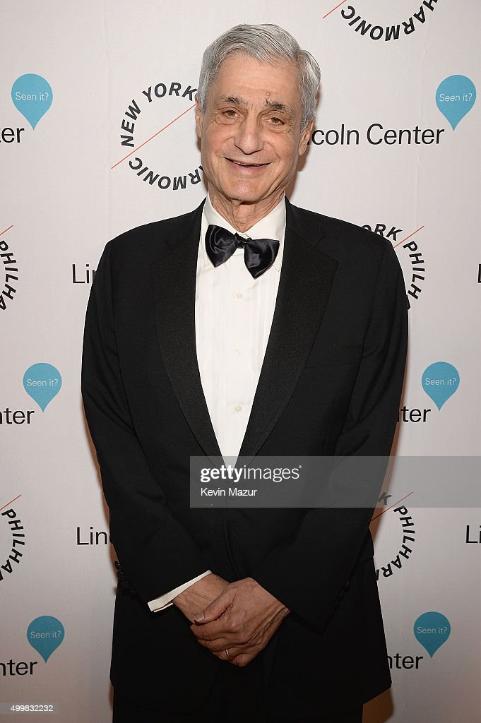 Robert Rubin attends the Sinatra Gala with New York Philharmonic at Lincoln Center's David Geffen Hall on December 3, 2015 in New York City.