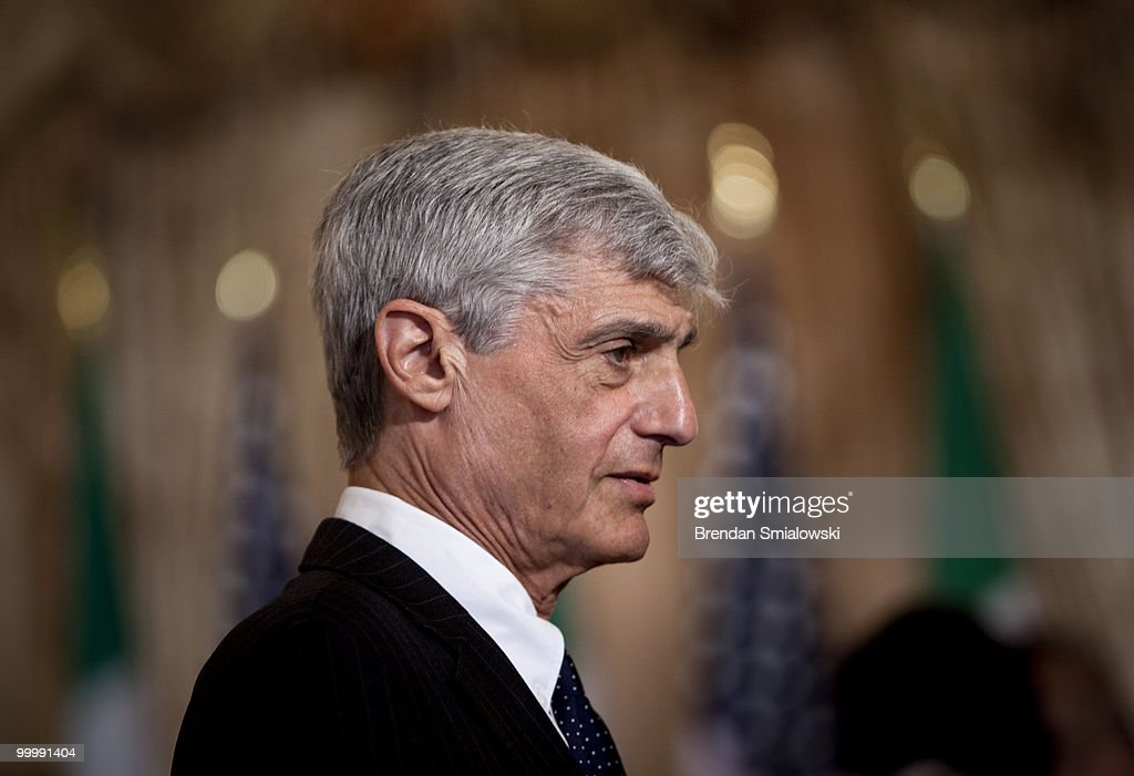 <a gi-track='captionPersonalityLinkClicked' href=/galleries/search?phrase=Robert+Rubin&family=editorial&specificpeople=209190 ng-click='$event.stopPropagation()'>Robert Rubin</a>, former Secretary of the Treasury, former Goldman Sachs board member and former Director of Citi Group, waits for a luncheon at the US State Department May 19, 2010 in Washington, DC. Secretary of State Hillary Rodham Clinton and Vice President Joseph R. Biden hosted Mexico's President Felipe Calderon and his wife Margarita Zavala for a luncheon before the couple traveled to the White House where they will meet with President Barack Obama and have a state dinner.