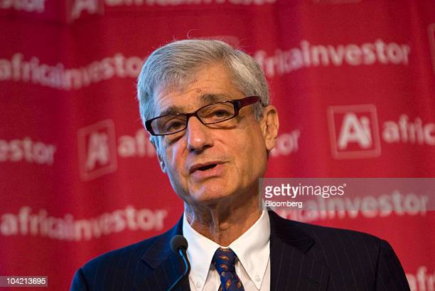 Robert Rubin former US treasury secretary and former chairman of Citigroup Inc speaks at the Africa Investor Summit at the New York Stock Exchange in...