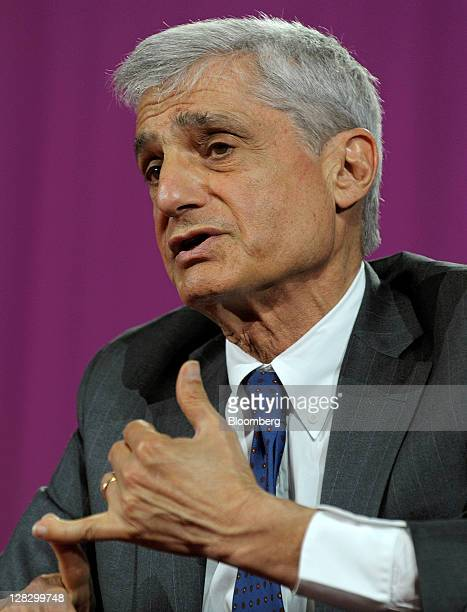 Robert Rubin former US treasury secretary speaks at the 2011 World Business Forum in New York US on Thursday Oct 6 2011 The World Business Forum is...