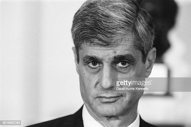 Robert Rubin Secretary of the Treasury during the Clinton Administration at a White House event on January 29 1998 in Washington DC