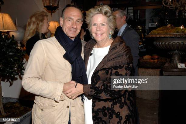 Robert Ruffino and Bunny Williams attend Book Party for BOBBY MCALPINE'S 'THE HOME WITHIN US' from RIZZOLI at Treillage on May 18th 2010 in New York...