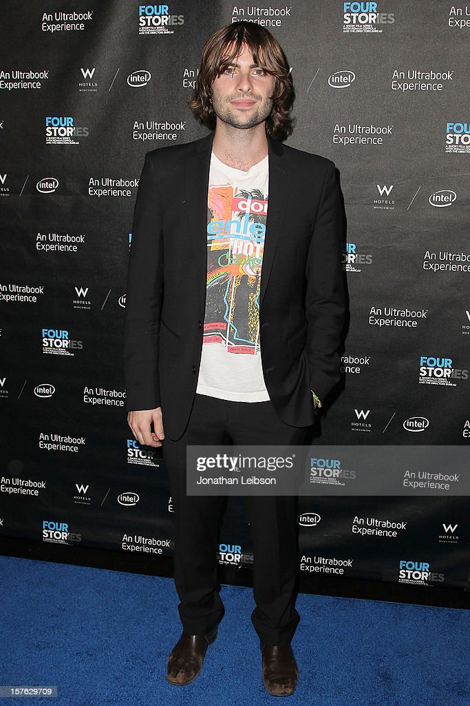 Robert Schwartzman attends the 'Four Stories' - Los Angeles Premiere at W Los Angeles-Westwood on December 4, 2012 in Los Angeles, California.