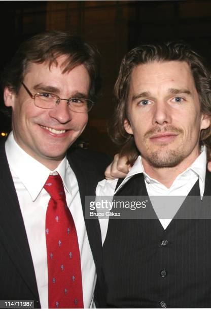 Robert Sean Leonard and Ethan Hawke who starred in 'Dead Poet Society ' together