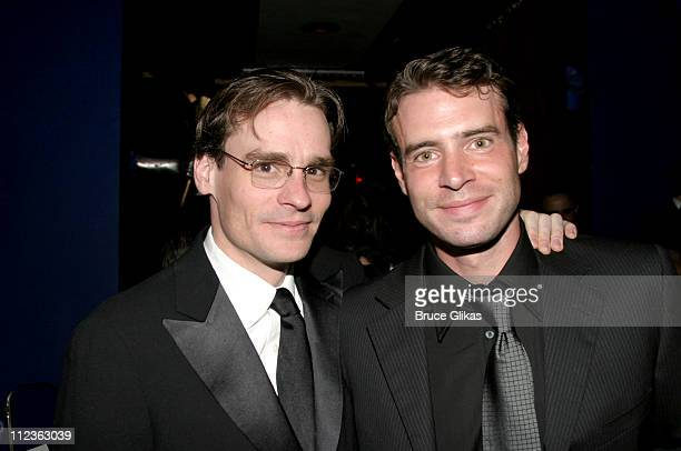Robert Sean Leonard and Scott Foley during Opening Night of 'The Violet Hour' on Broadway at The Biltmore Theater and The Supper Club in New York...