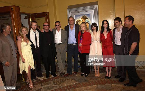 Robert Shaye Heather Wahlquist Ryan Gosling James Garner Sam Shepard Nick Cassavetes Gena Rowlands Rachel McAdams James Marsden and Jamie Brown